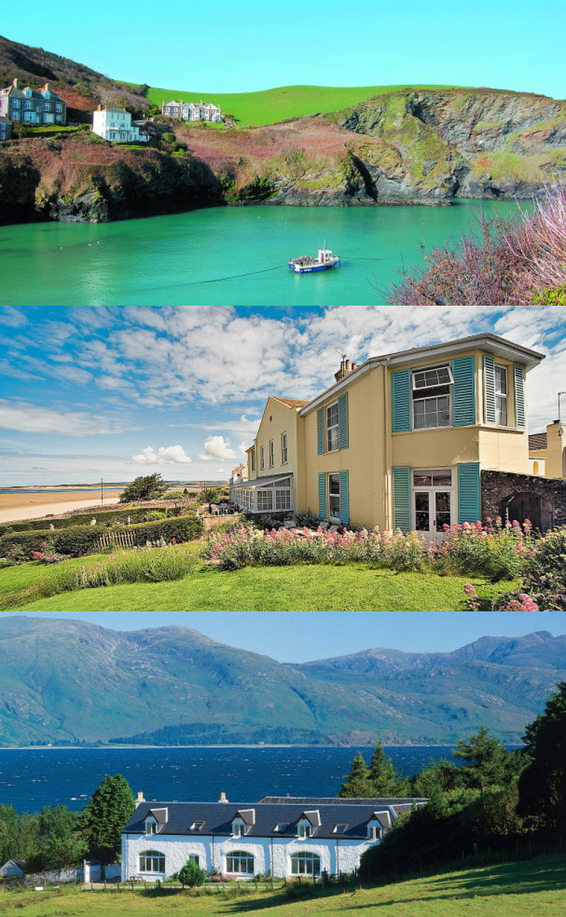 holiday cottages on the uk coast dream vacations holiday places rh pinterest com