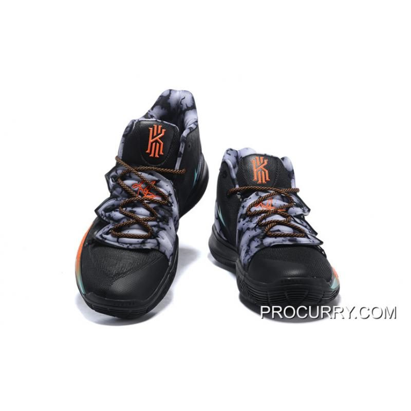 182db9f5d48c Nike Kyrie 5 Black Multi-Color Latest