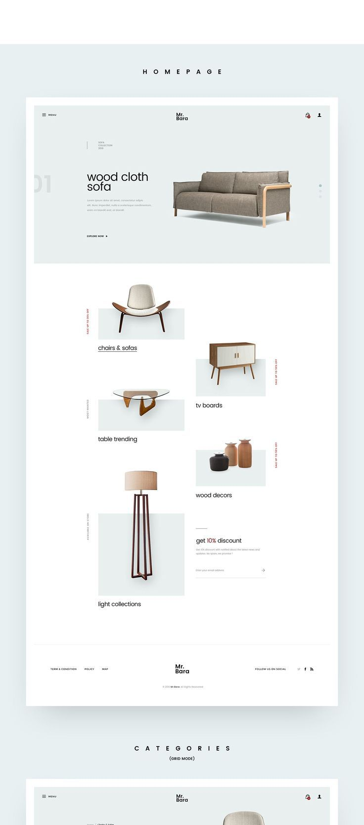 minimal furniture website(이미지 포함)   가구 기획전, 레이아웃, 디자인 웹
