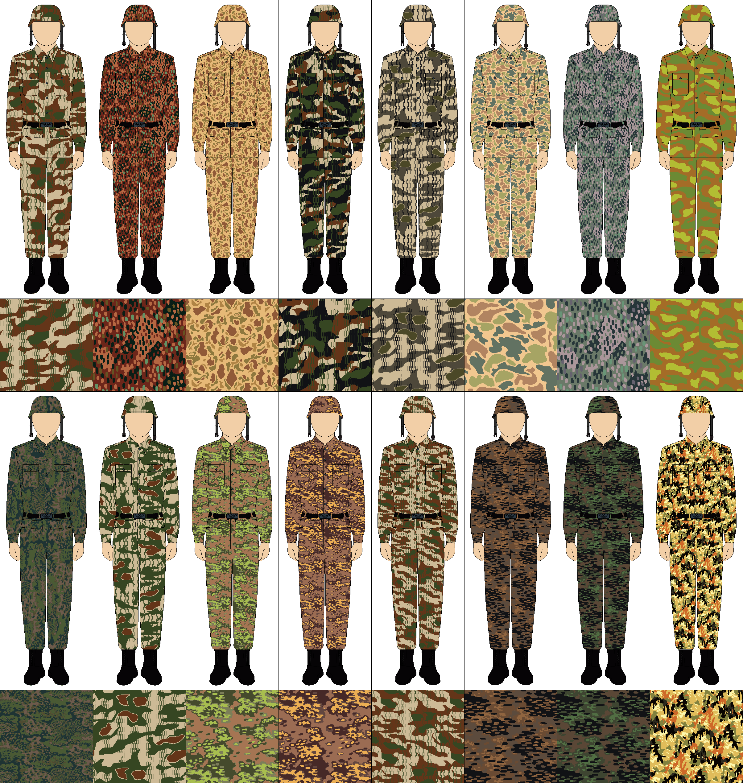 Camouflage Tile Google Search Wwii German Uniforms Camouflage