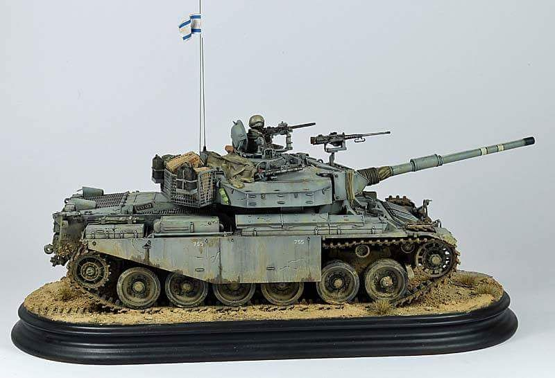 IDF Shot Kal Gimel 1982 1/35 | Military Scale Models | Model tanks