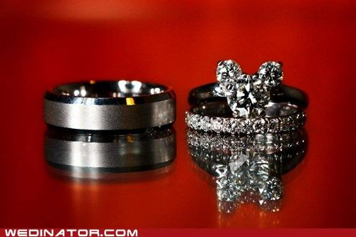 Disney engagement ring!! Love it!