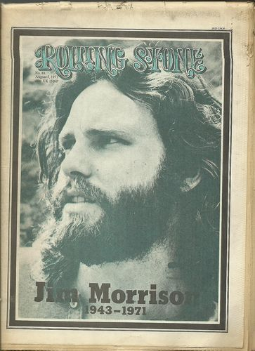 AUGUST 5 1971 ROLLING STONE JIM MORRISON THE DOORS