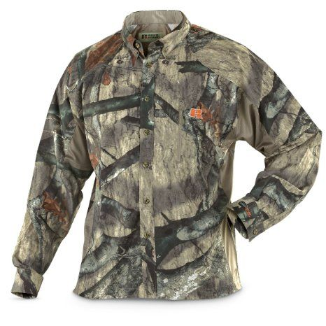 b9990bbbdd4cd Amazon.com: Russell Outdoors APXg2 Reflector L4 Long - sleeved Shirt Mossy  Oak Treestand, MO TREESTAND, M: Sports & Outdoors