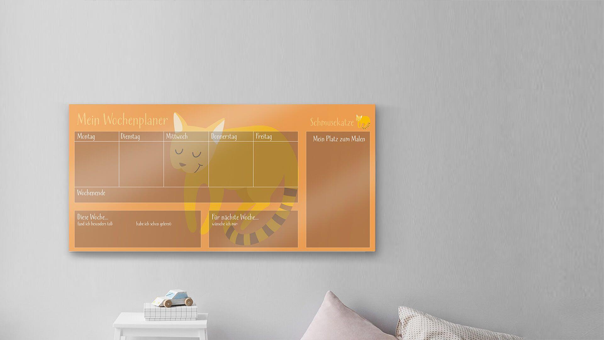 Kühlschrank Wochenplaner : Wochenplaner magnettafel alaman wöchentlich magnetischer kalender