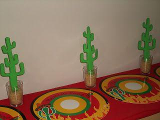 Mil e uma ideias cabem nesse blog: Jantar mexicano para um casal especial