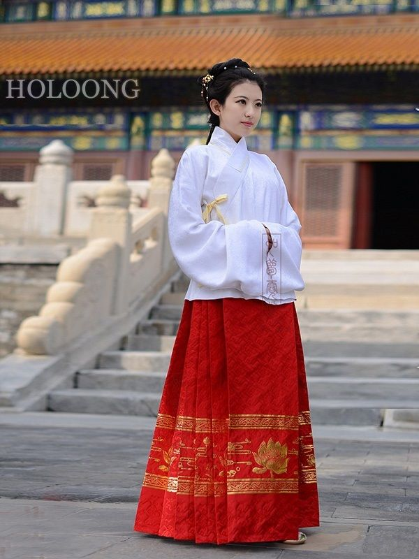 28ab89ec86 Jacket and skirt Custom Orient asian clothes Traditional chinese clothing  Women Hanfu Outfits -  743.00