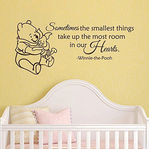 Wall Decal Decor Winnie the Pooh Wall Decal Quote - Somet... https ...