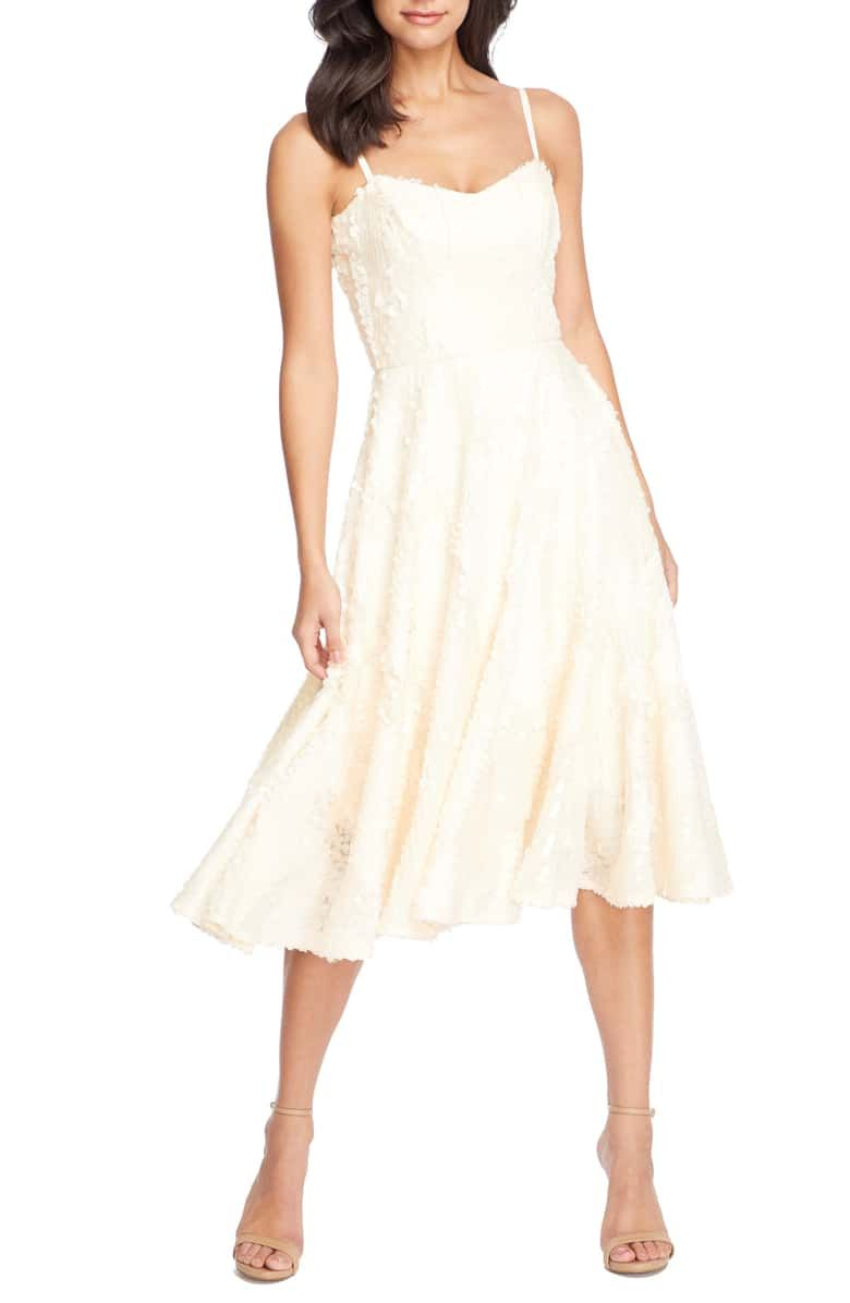 Dress The Population Flora Sequin Fit Flare Dress Nordstrom Dress The Population Fit Flare Dress Flare Dress [ 1196 x 780 Pixel ]