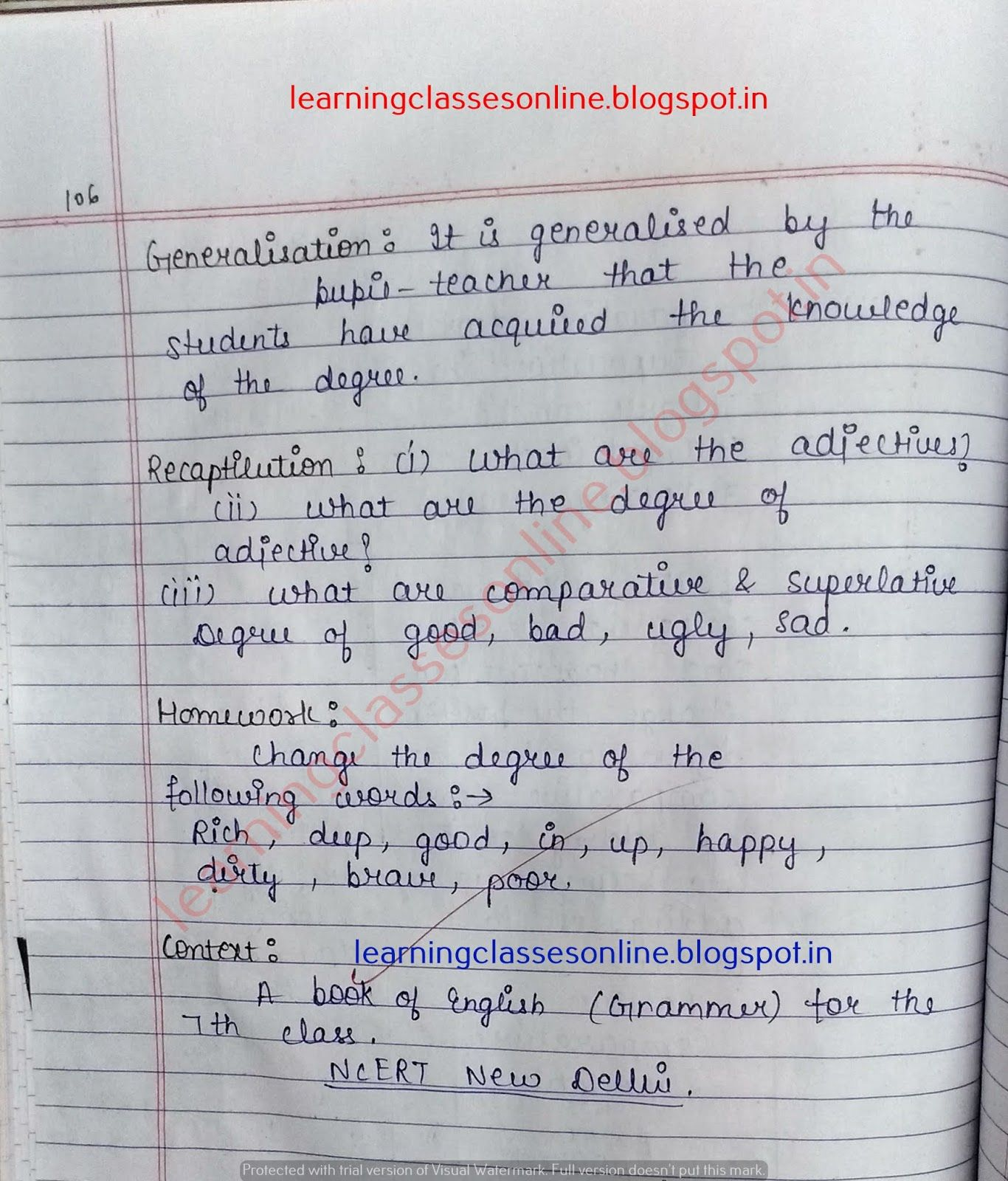 Detailed Lesson Plan In English Elementary In