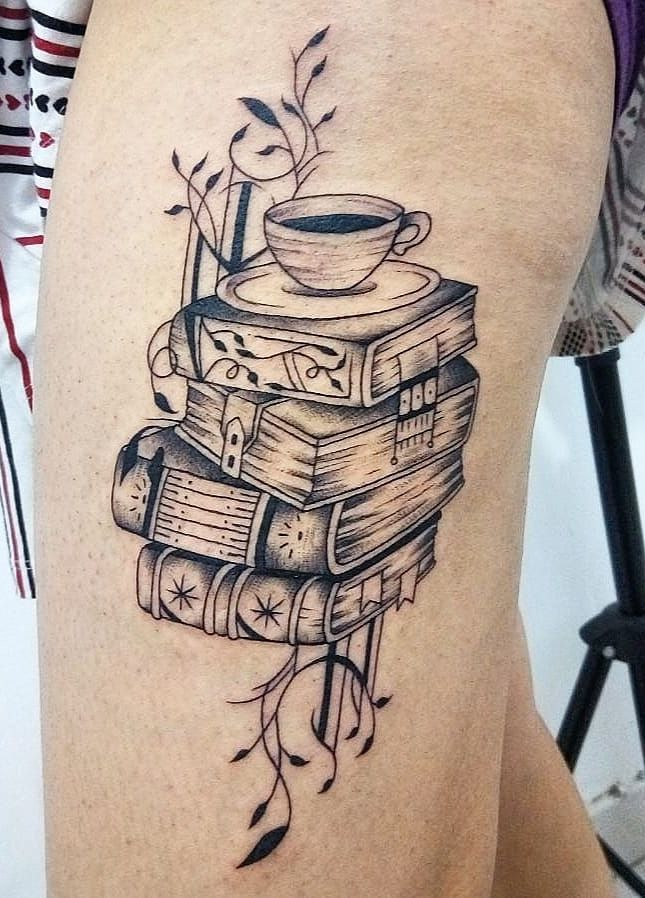 Awe Inspiring Book Tattoos For Literature Lovers Tattoos