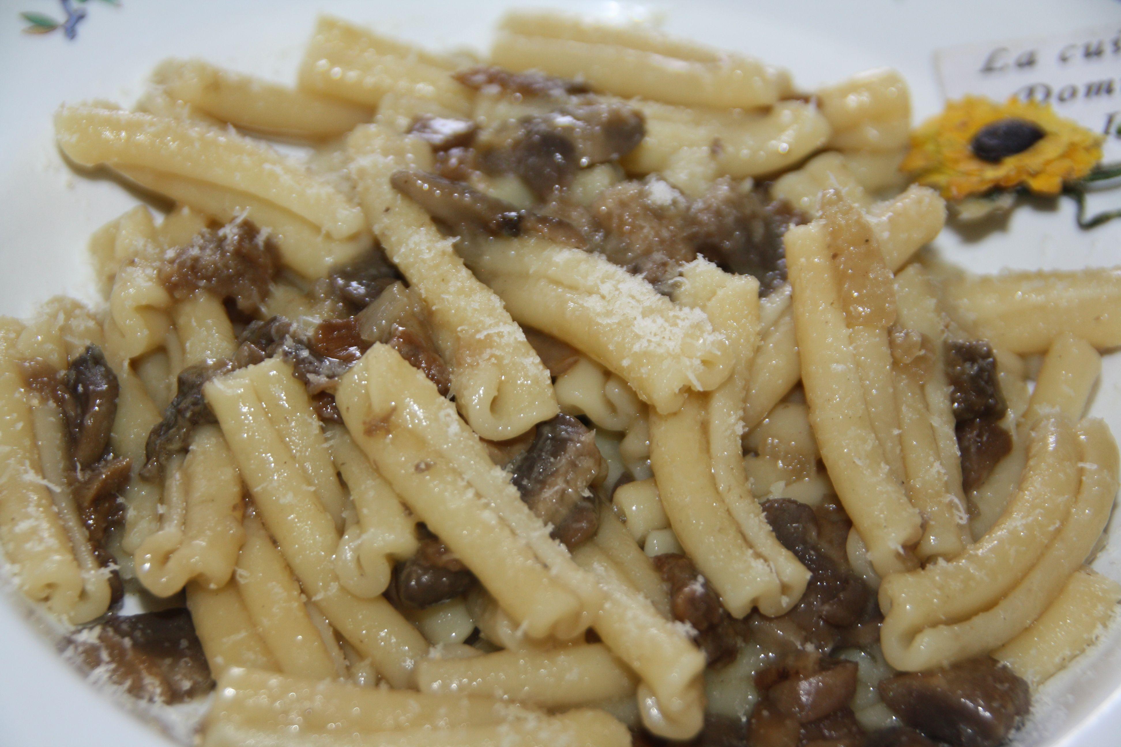 Pates Aux Champignons Casarecce Recette Italienne Recette