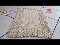 Tapete Pérola do Oriente Pink Artes Croche by Rosana Recchia - YouTube