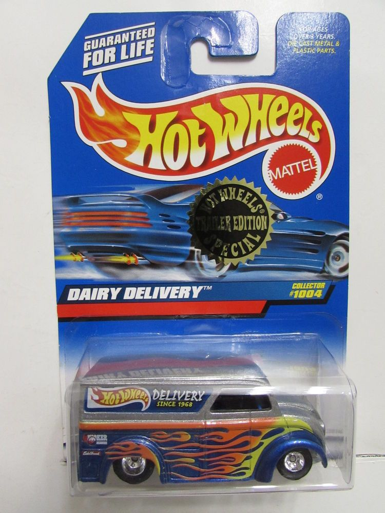 hot wheels 1999 dairy delivery trailer edition special 1004 hot rh pinterest com