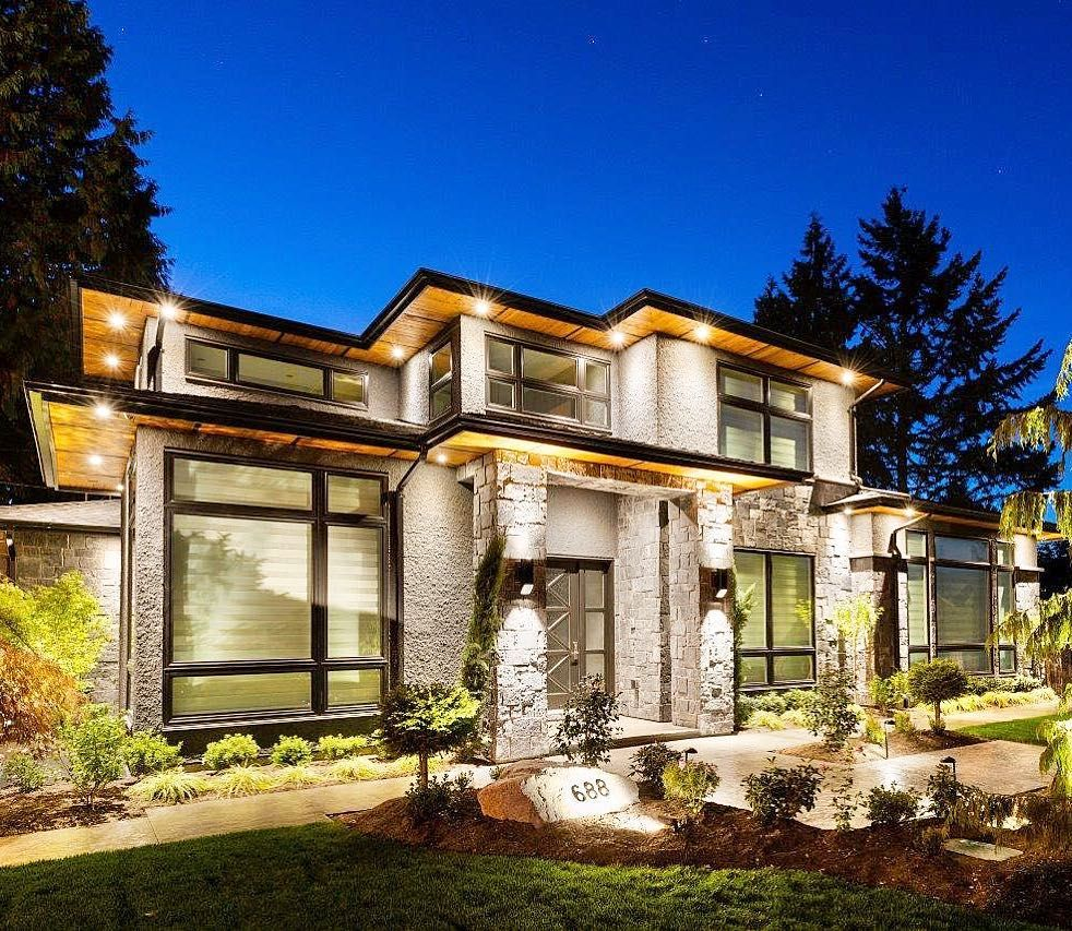 evening glow a prairie contemporary home we designed in greater rh pinterest com