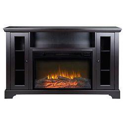 kingwood media stand fireplace espresso 57 homestar fireplaces rh pinterest com