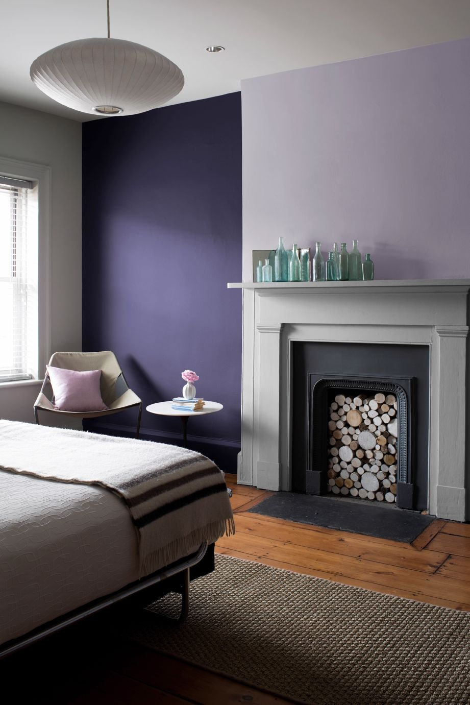 Paints Amp Exterior Stains Bedroom Wall Purple Walls