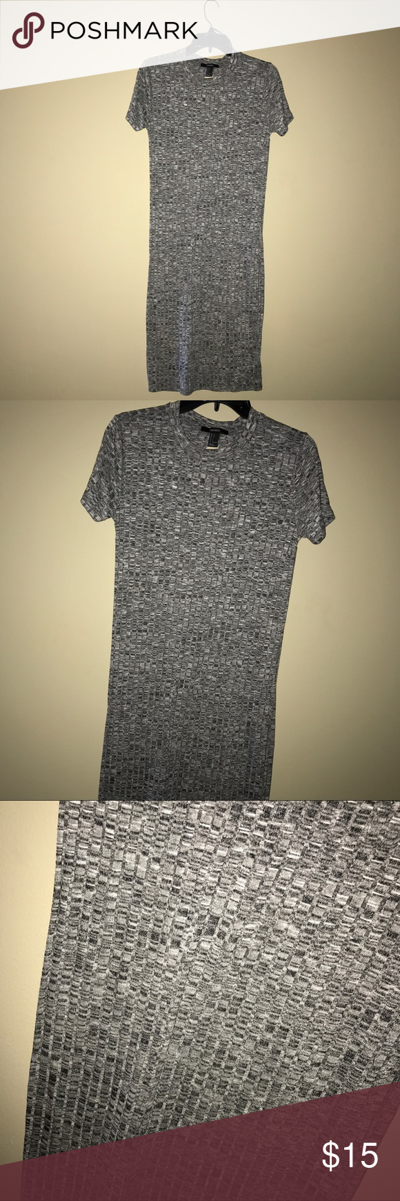 Forever 21 Midi Shift Dress This is a Midi dress that is marled printed from forever21. Its a size Small but runs big it can fit a person who is a size medium if you want a bodycon fit. Forever 21 Dresses Midi