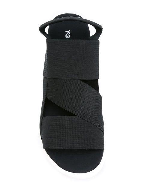 Shop Y-3 Qasa sandals.