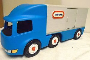 little tikes large vintage semi truck big rig baby 90 s rh pinterest com