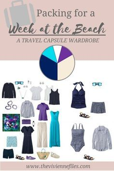 Can I Pack Just 11 Pieces for a WEEK at the Beach? Absolutely #travelwardrobesummer