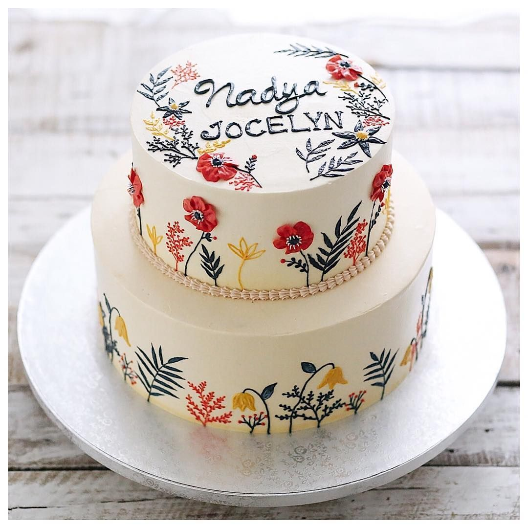 What Do I Need To Decorate A Cake  from i.pinimg.com