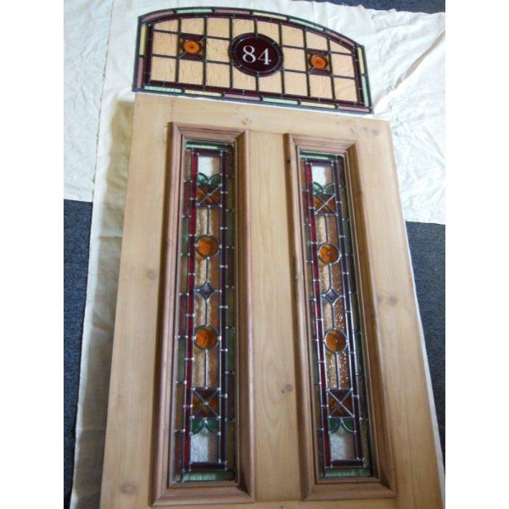 Victorian Original Stained Glass Exterior Door The Richer Kyle