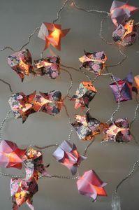 Guirlande 20 Lotus Lumineux Guirlandes Origami Myplacetobe