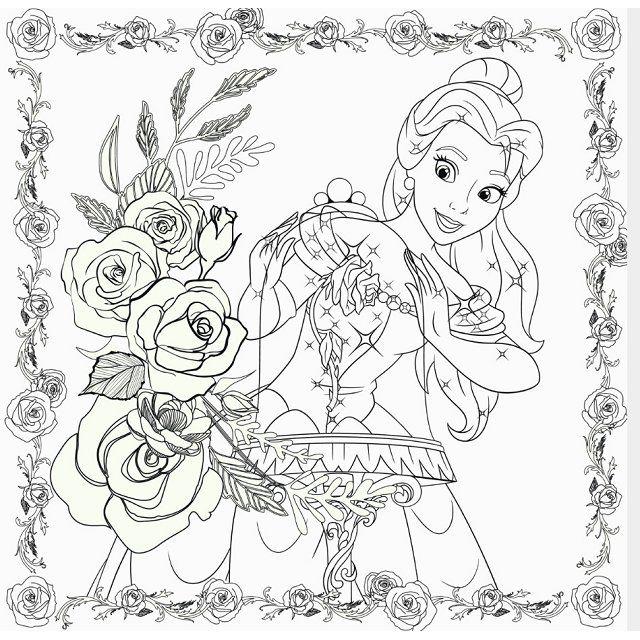 好圖試讀】迪士尼卡通人氣女主角著色繪本-與小小好友們-金石堂網路書店 ...