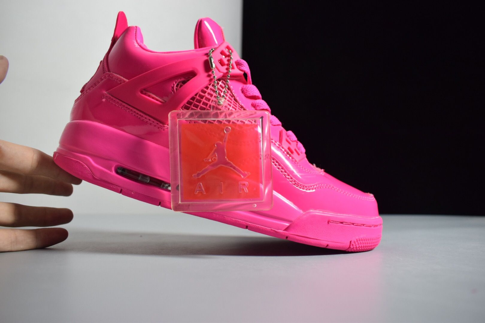 "2019 Air Jordan 4 GS 11Lab4 ""Pink Patent"" Leather For Sale 18dc0a735"
