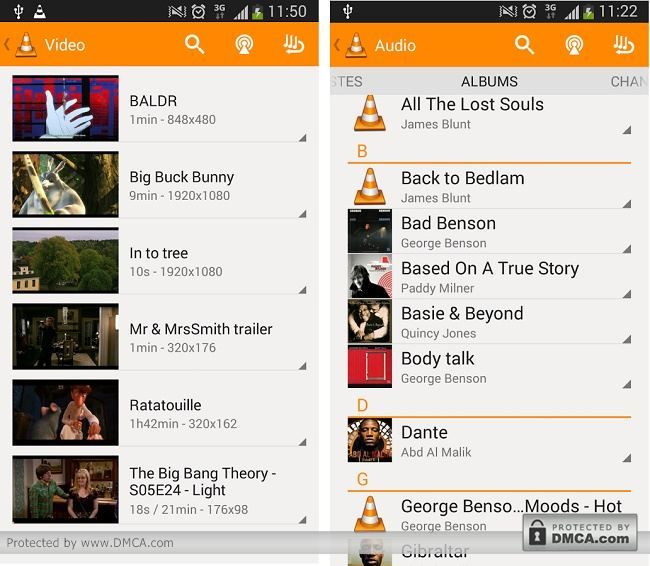 VLC for Android Full Featured Media Player The VLC for