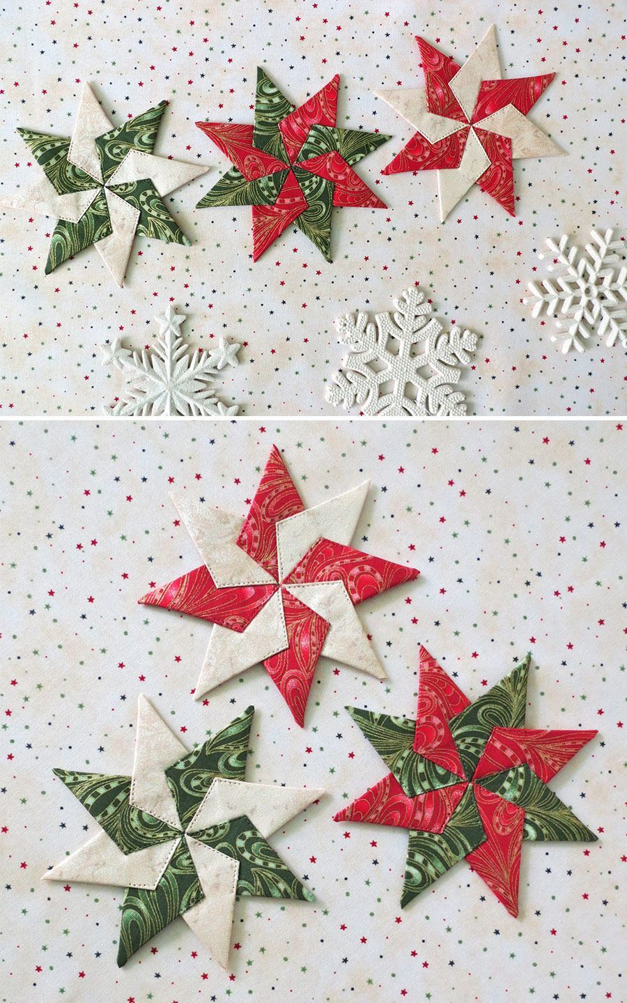 Christmas Quilt Patterns In 2020 Quilted Christmas Ornaments Christmas Ornament Pattern Christmas Ornament Crafts