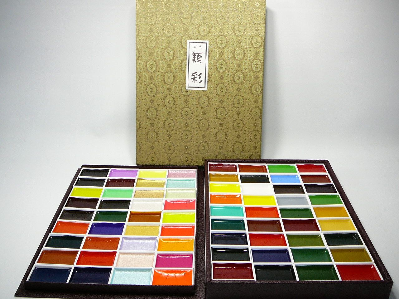Kissho Gansai Japanese Watercolor Paint 72 Colors Set