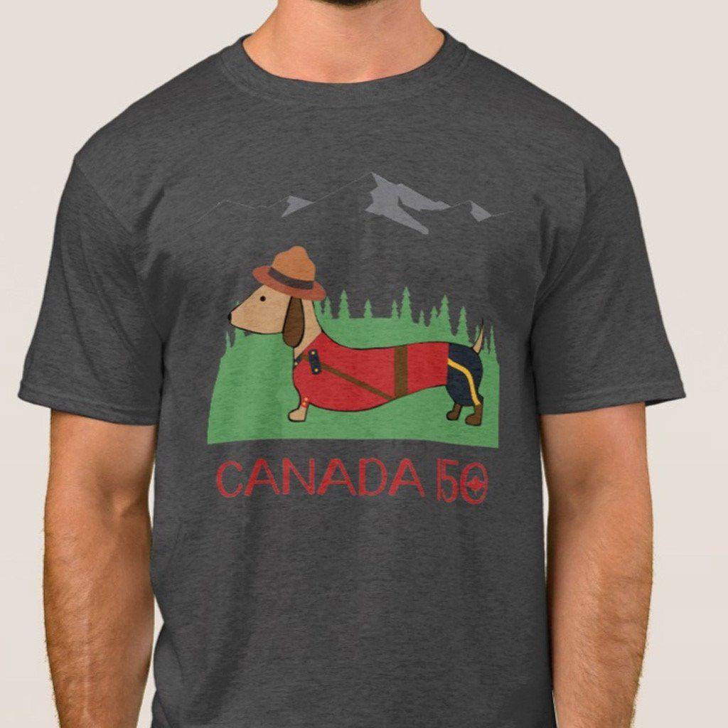 Limited Edition Canadian Dachshund Shirts Dachshund Shirt