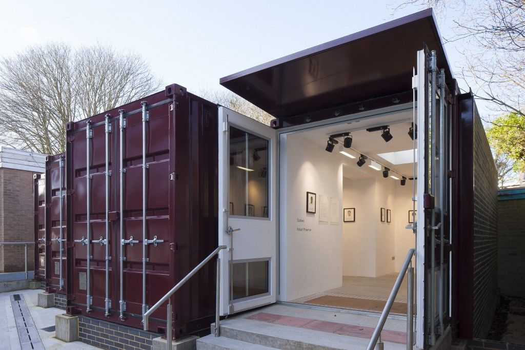 Image result for shipping container gallery | Costanoa | Pinterest ...