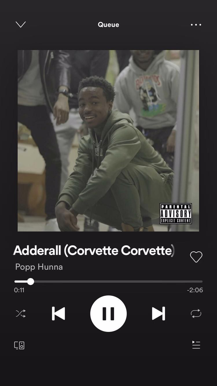 Popp Hunna Corvette Lyrics : hunna, corvette, lyrics, MU$IC‼️