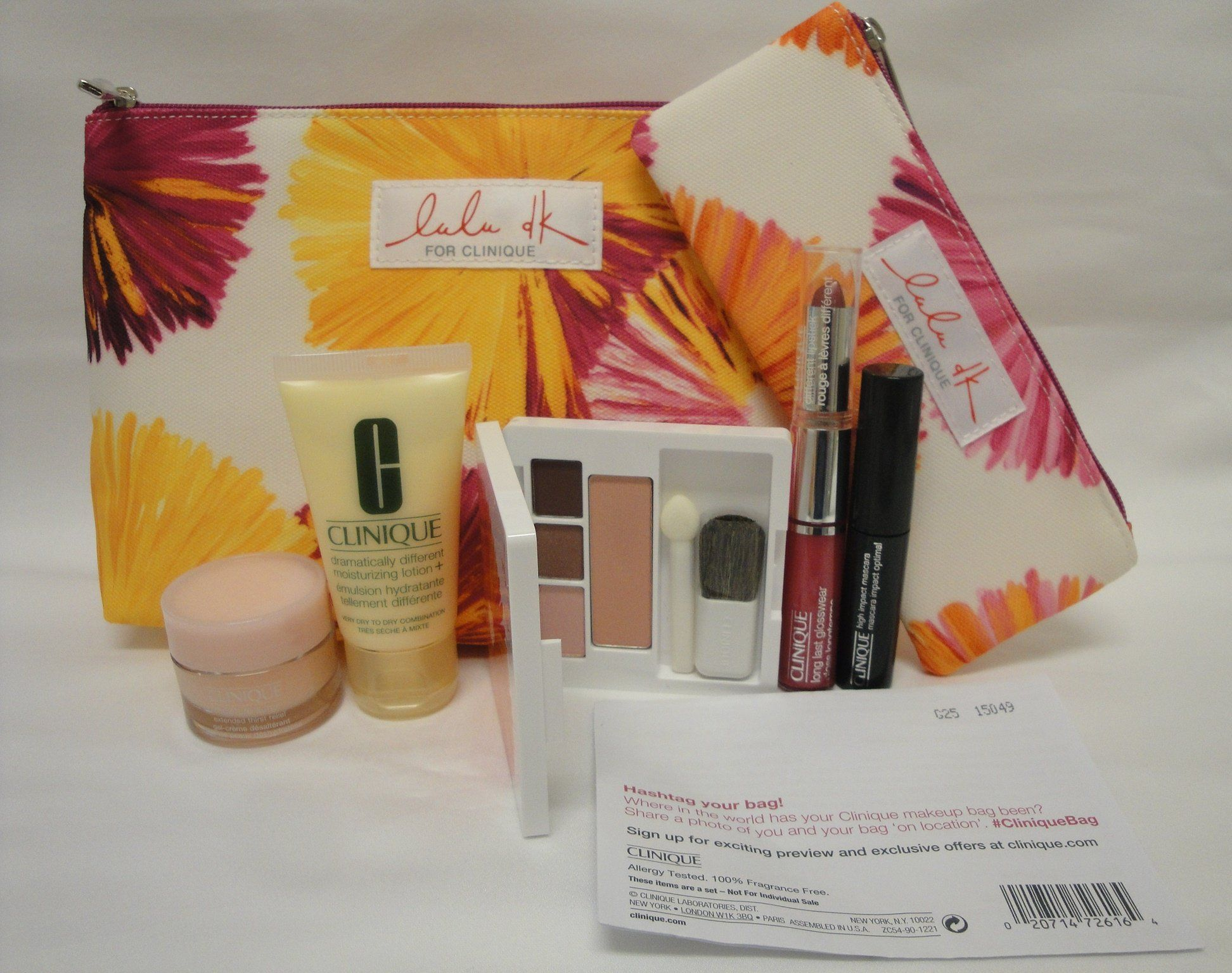 NEW Clinique Skin Care Makeup 7 Pc Gift Set