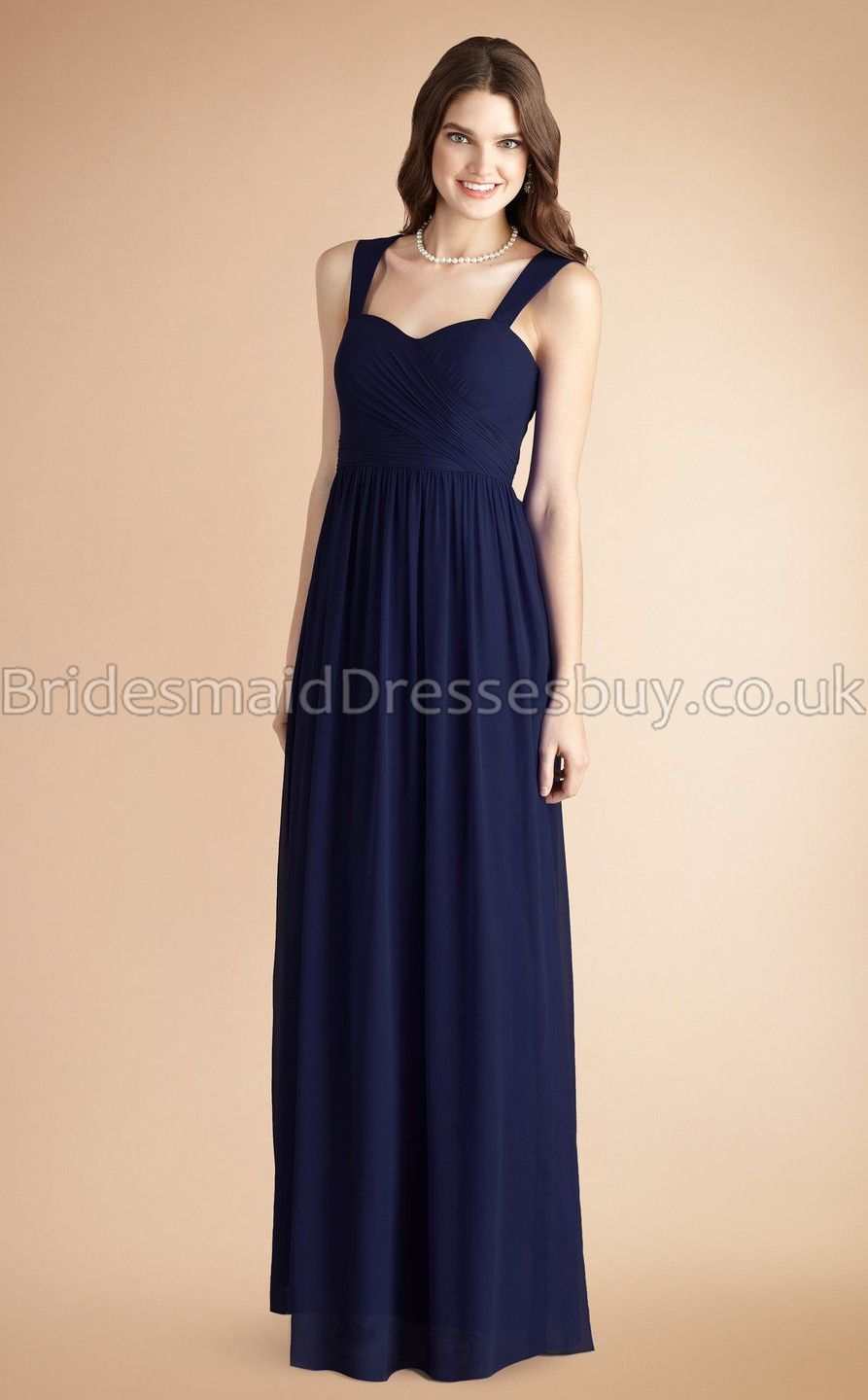 long chiffon bridesmaid dresses with straps | Gommap Blog