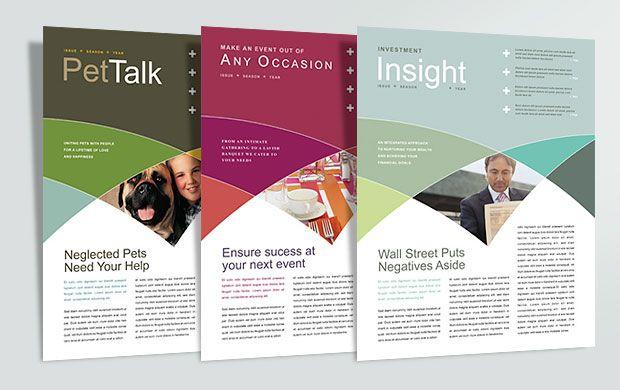 newsletter inspiration | Graphic Design : Ideas, Inspiration + ...