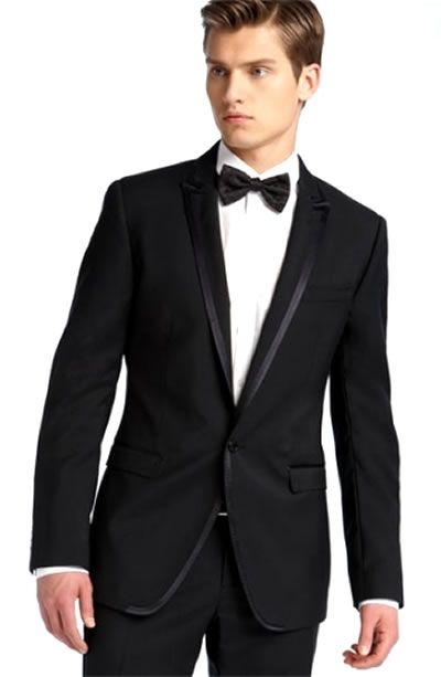 6c775bd2f8 Classic for a nighttime wedding. Classic for a nighttime wedding Groom  Tuxedo, Pink Tuxedo, Tuxedo For Men, Black