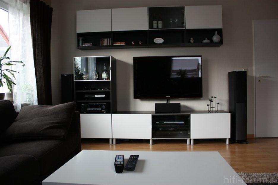 Hochwertig Ideen : Kühles Wohnzimmer Ikea Besta Bild Wohnzimmer Besta, Wohnzimmer
