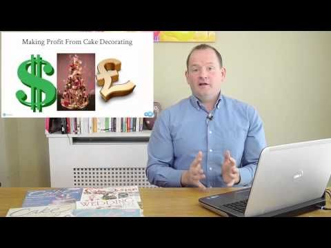 How to Price Your Cakes   Free Professional Cake Tips   Paul Bradford Sugarcraft School - YouTube