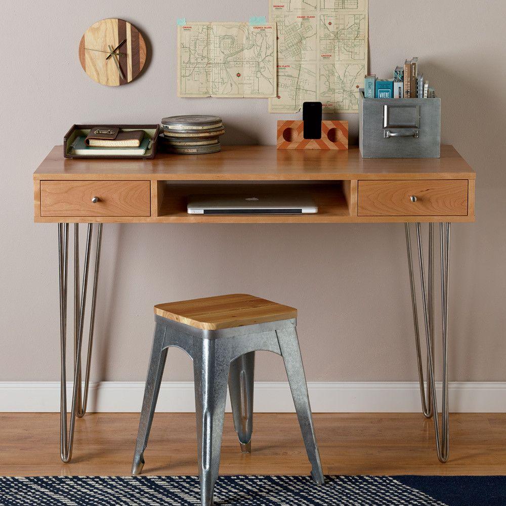 Diy hairpin leg desk diy desk accessories woodworking