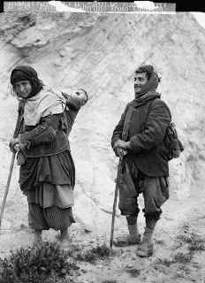 Asia: Jacobite Christian pilgrims from Chaldea, Israel, 1900