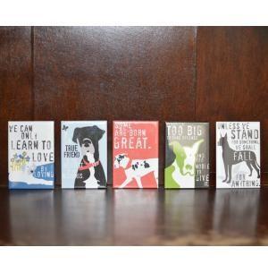 Set of Five Great Dane Art Magnets, Dog Park Publishing