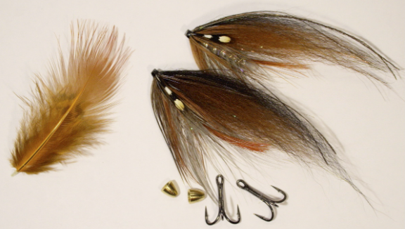 Hareline Ringneck Pheasant Tail Feathers Black Fly Tying
