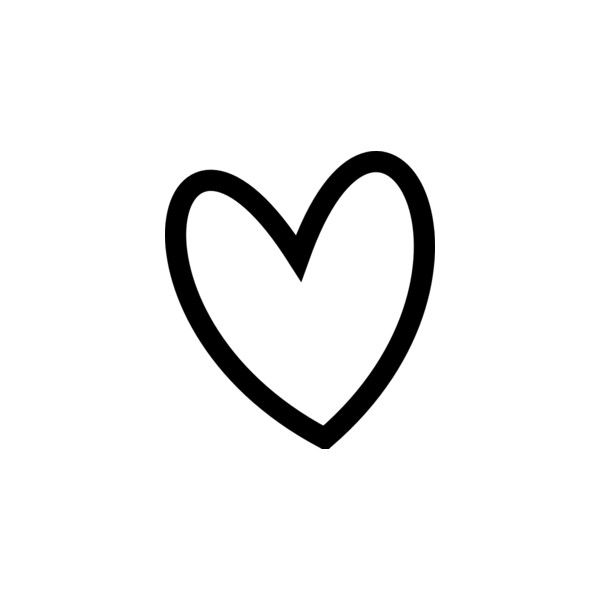 Slant Black Heart Outline Clip Art Via Polyvore Templates Rh Pinterest Ca Free  Clipart Heart Outline Love Heart Clip Art Outline
