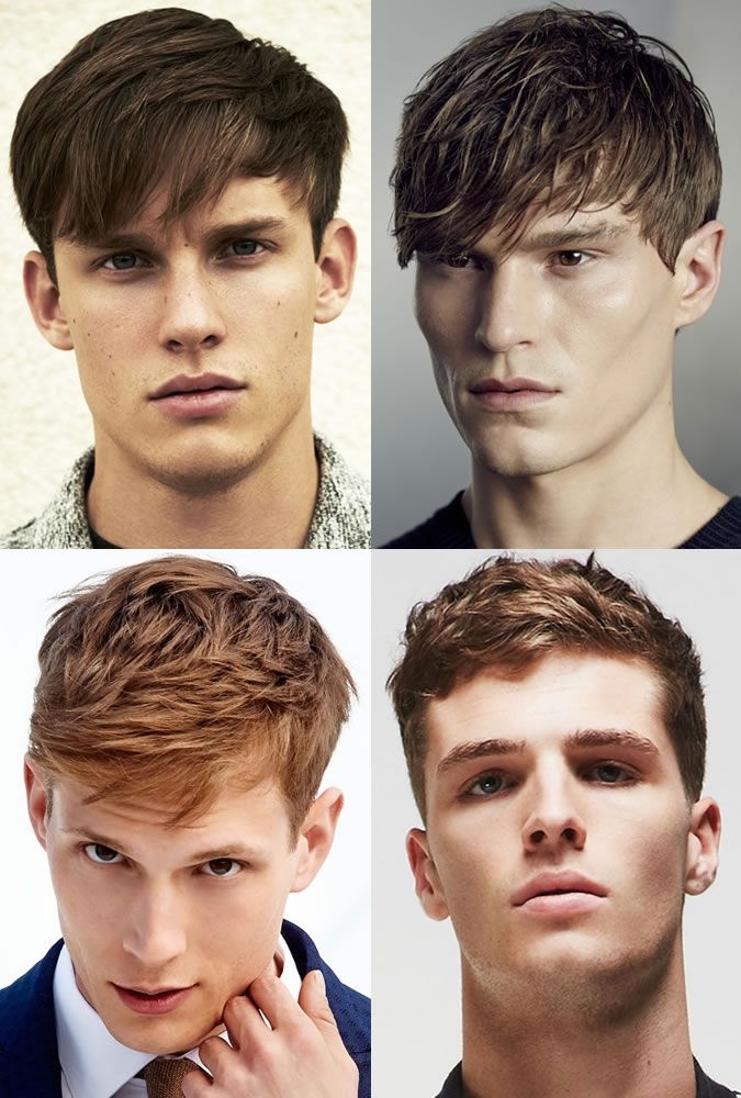 Textured Hairstyles For Men With Fringe Mens Hairstyle Trends
