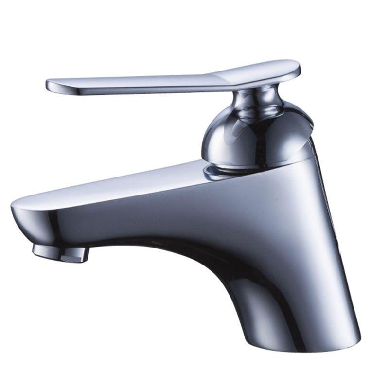 Modern Chrome Basin Faucet Simple Design Sink Tap Sink Taps Faucet Basin