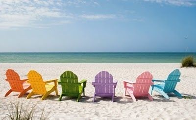 decor could include colourful deck chairs so people can soak up the rh pinterest co uk